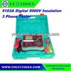 DY5103A High Voltage Digital Insulation 3 Phase Tester 5000V ,Insulation Resistance Tester / Megohmmeter