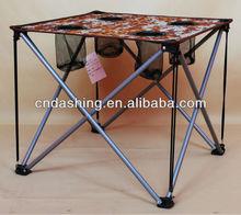 Folding camping picnic table