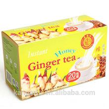 Ginger tea with honey 18gx20sachets/box honey ginger tea