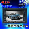 6.2 inch TFT screen double din car dvd player professional item 2015