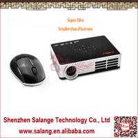 1000 ANSI Lumens Real 3D Projector 1280*800 Mini DLP Projector Smart 2D Convert 3D Pocket For Home/ Education