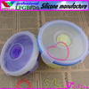 Food warmer lunch box/hot food containers/collapsible silicone bowl