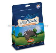 4 sides sealed bag with zipper/dog food bag/cat feed bag