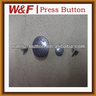 Decorative button Metal shank jeans buttons fashion buttons