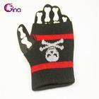 glove design skull volleyball knitting wrist guard/wristband wrist protector