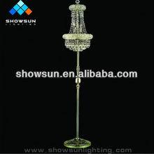 fancy crystal floor lamps for hotel