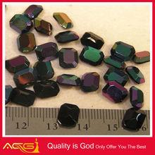 Polishing stone glass for jewelry pointback glue on stone rhinestone hair claw