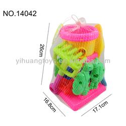 Sand beach water wheel, 3pcs plastic beach toy