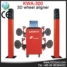 CE certificated Original LAUNCH KWA-300 3d wheel alignment equipment