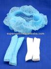 folded medical disponsable hairnet surgical cap