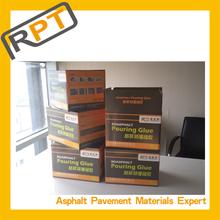 Asphalt road crack filler material