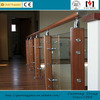 tempered laminated glass railing /stainless steel balustrade and handrails GM-LL020