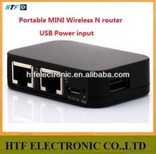 OEM 150M 1 WAN+1LAN port 2.4G USB MINI wireless Wifi router cable