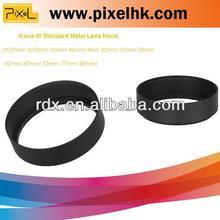 Camera accessories Standard metal lens hood for Camera lens hood