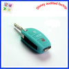 Silicone Key Shell Cover Remote Flip Key FOB 3 Button For Audi A6L Q7 TT with blue color