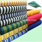 100% solution dyed acrylic awning fabric