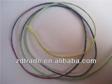 2014 New Trendy!Tie dye Space dye Waxed Hemp thread cord