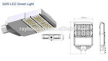 60w Cree LED street light retrofit kits with 5 years warranty led outdoor lighting