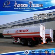 China Manufacturer 2 axle 30CBM Fuel Tanker/Oil Diesel Transport Semi Truck Trailer
