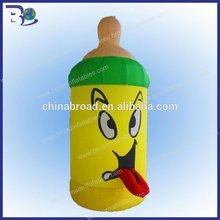 Hot selling 3m inflatable bottle modele