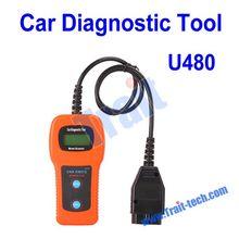 High Quality U480 CAN OBDII/EOBDII Car Diagnostic Tool