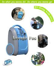 0L-5L 30%-98%purity PORTABLE OXYGEN CONCENTRATOR GENERATOR AUTO/CAR/HOME/TRAVEL OXYGEN MACHINE