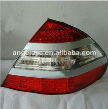 For Mercedes-Benz W211 E200 E230 E240 E280 E320 Tail Lamp 03 to 06 year Red Silver Type