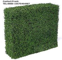 artificial boxwood mat,artificial plants wall UV,artificial boxwood hedge