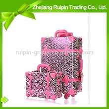 2014 popular fashion travel purple travel luggage