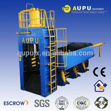 Aupu scrap metal scrap metal cutting baler machine have CE certification