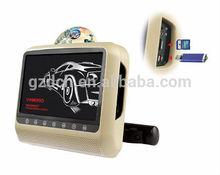 9 inch headrest dvd player USB+SD+AV+FM+IR+32 GAME WS-9699D