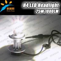 High power 50W 1800 Lumens Super bright car headlight led bulb H4 Auto headlamp 12V 24V head light motorcycle car lamp led kit