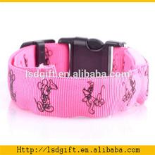 Outdoor activities reflective electric collar