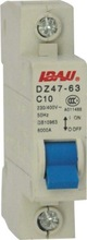 Hot sell DZ47-63-1p C45 miniature circuit breaker MCB