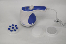 personal electric massager, massager products,relax and vibro tone head massager with CE ROHS certificate