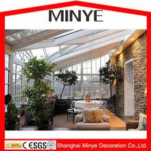Europen style slant roof sloped decorative function sun room