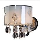 China crystal glass wall bracket light fitting