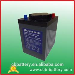 Marine Battery 6V225AH Golf Cart Battery, Electric Vehicle Battery