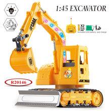 A buon mercato all'ingrosso giocattolo 1:45 scala 5 canali rc escavatore caterpillar camion r20146