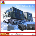 Special rubber track for trucks for Hagglunds BV206 ordering in China