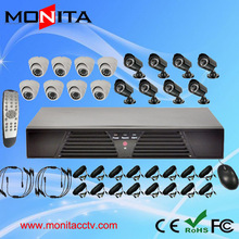 Sony 420TVL 16 Channel CCTV System Support HDMI, VGA, Wi-fi as Home Security System H.264 16CH DVR Kit