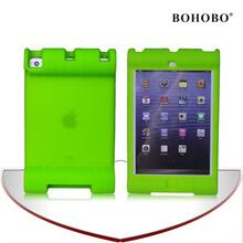 Colourful anti-shock eco-friendly silicone kids cover case for Ipad mini