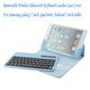 bluetooth keyboard case for ipad /ipad mini/android MID tablet
