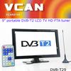 DVB-T29 9 inch dvb-t2 tv tuner LCD TV monitor 2014 HD FTA digital TV receiver decoder tuner with antenna