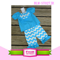 sale promotion! 100 cotton chevron China fashion baby clothes
