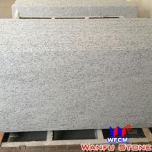 White Granite Stone Countertop Half Bullnose