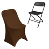 Folding spandex chair covers for weddings