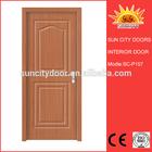Cheap wooden interior pvc doors for construction SC-P157