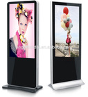 "55"" standing lcd advertising equipment,lcd advertising monitor,network lcd advertising display"