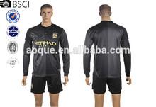 2013/14 Manchester-city away soccer jersey football jersey soccer shirt OEM order,custom long sleeve soccer jersey